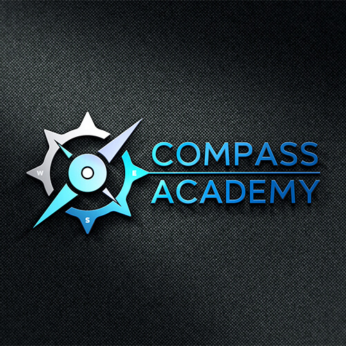Compass Academy- Modern Logo Design for Amazon FBA Seller, Amazon Image Infographics