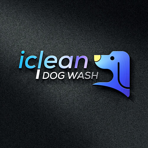 Iclean Dog Wash- Premium Quality Modern Logo Design for Amazon FBA Seller, Amazon Image Infographics