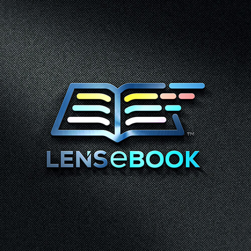 Lens eBook- Corporate Logo Design for Amazon FBA Seller, Amazon Image Infographics