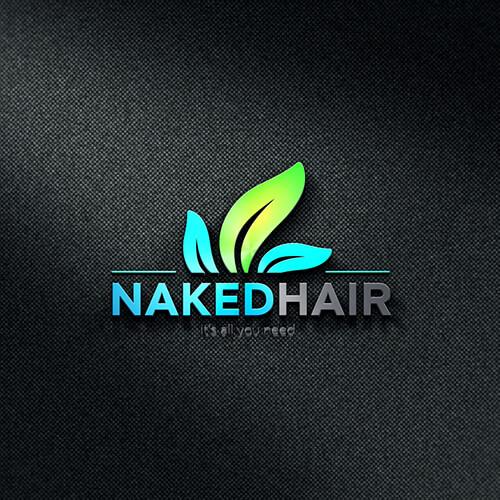Naked Hair- Premium Quality Modern Logo Design for Amazon FBA Seller, Amazon Image Infographics