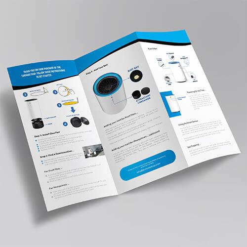 Tornodo-Trap-Amazon FBA Product Insert, Flyer, Thank You Design, Amazon Image Infographics